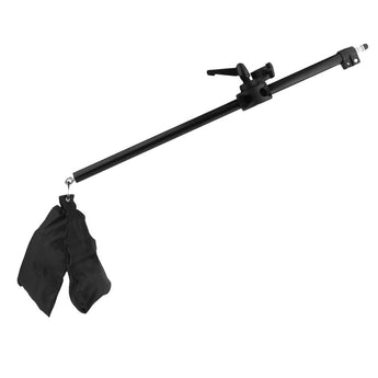 Pxel LS-ARM140 140cm 4.5 Feet Cross Arm Bracket Telescopic Boom Arm Stand with Counterweight