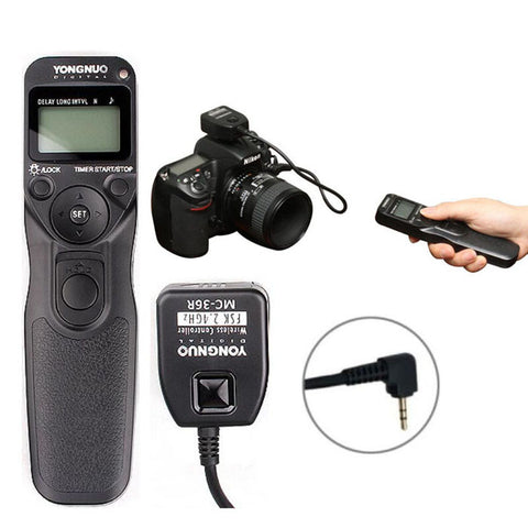 Yongnuo MC-36R N1, Yongnuo Wireless Timer Remote Control Shutter Release MC-36R for Nikon