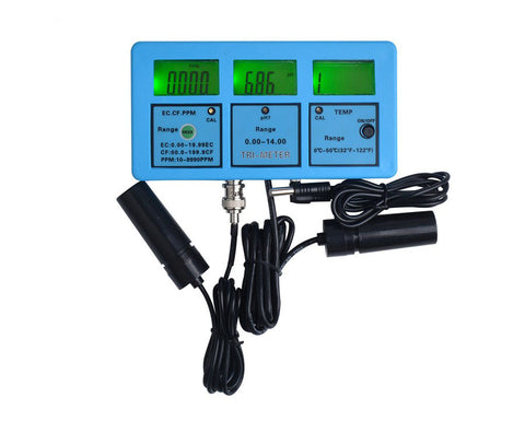 PH-117 Pro 5 in 1 Multifunction LCD Digital Meter Water Quality Tester PH / Temperature / EC / CF / TDS