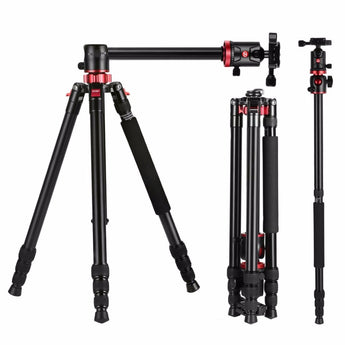 Zomei M8 GO Camera Tripod Travel Compact Aluminium Monopod with Ball Head