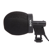 Boya BY-T50 Microphone Foam for BY-VM01 Inside Depth 50mm Professional Windshield Azden SGM-2X Beyerdynamic MCE 72 DPA 4006 4011