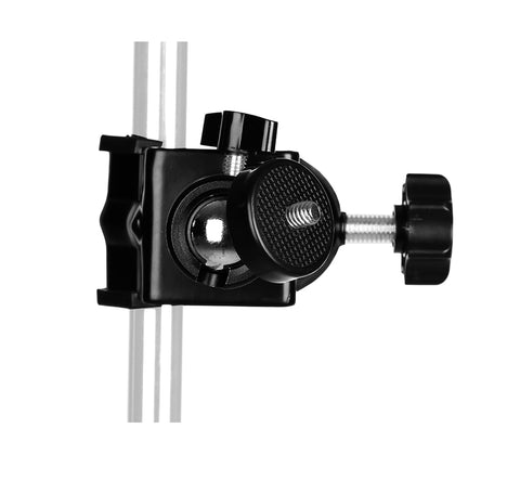 "Pxel AA-UC4 Heavy Duty Clip Clamp C / U Type Photo Studio Light With Stand Ballhead Ball Head 1/4"" Screw For Studio Flash, Camera etc"