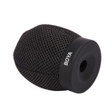 Boya BY-T80 Microphone Foam Inside Depth 80mm Microphone Windscreen Windshield Wind Shield Foam for Shotgun Mic Accessories