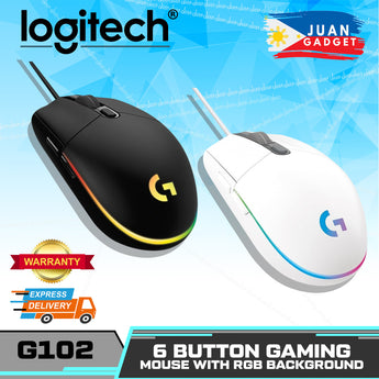 Logitech G102 Prodigy Optical Gaming mouse with 16.8m LED Colors, Built-in Storage Capability for PC/Mac