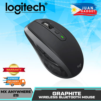 Logitech MX Anywhere 2S Wireless Mouse Excellent Dual Mode Cross Control (Black)