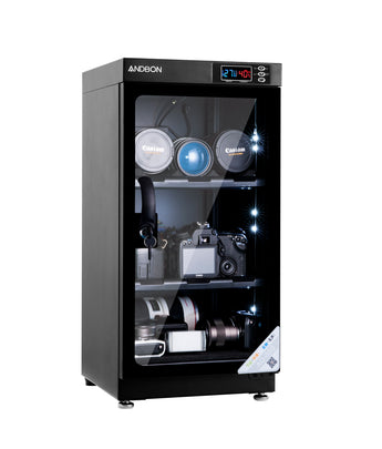 Andbon AD-50S Dry Cabinet Box 50L Liters Digital Display with Automatic Humidity Controller