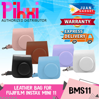 PIKXI BMS11 Fujifilm Instax Mini 11 Leather Camera Case Bag