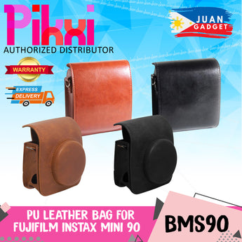 Pikxi Fujifilm Instax Mini 90 Camera Leather Case Bag