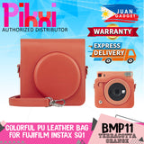 Pikxi BSQS1 Fujifilm Instax Square SQ1 Leather Camera Case Bag ( 3 Available Colors)