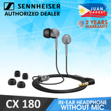 Sennheiser CX 180 Street II In-Ear Stereo Headphone