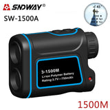SNDWAY SW-1500A Telescope Rangefinder 1500 meters Handheld Outdoor Range Finder
