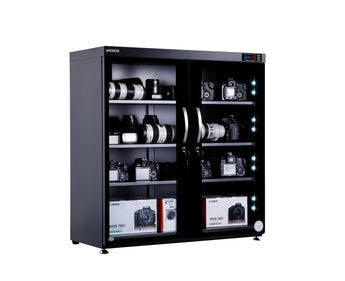 Andbon AD-250S Horizontal Dry Cabinet Box 250L Liters Digital Display with Automatic Humidity Controller