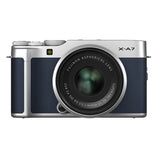 FUJIFILM X-A7 Mirrorless Camera Body Only (Navy Blue)