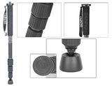 Benro A28T Aluminum Monopod with Twist Lock for Digital Camera