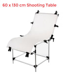 Pxel ST-6X13 Foldable Shooting Table 60x130cm Photographic Studio White Background Backdrop