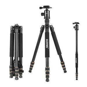 Zomei Z668 Tripod Magnesium Alloy Professional Tripod Monopod With Ball Head For DSLR Camera