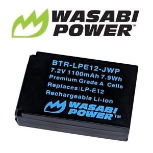 Wasabi Power Battery E12 for Canon LP-E12