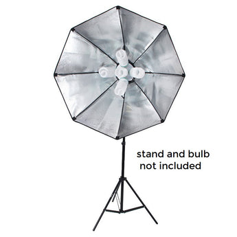 Pxel SB-5B-90X90 5 in 1 E27 Base Socket Light Lamp Bulb Holder Adapter for Photo Video Studio Softbox 90 x 90 cm