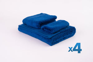 4x The Cloud Bath Towel Set
