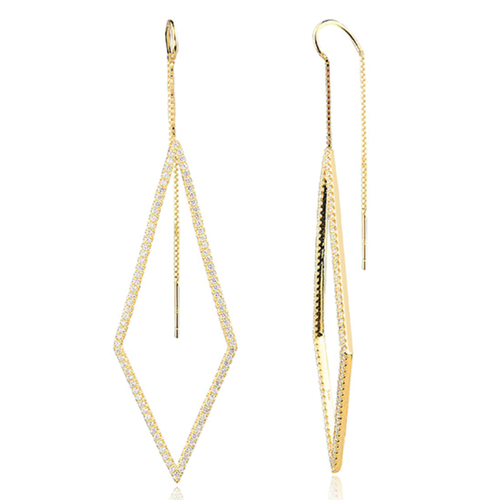Ace Threader Earrings