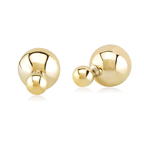 Double Bubble stud earrings