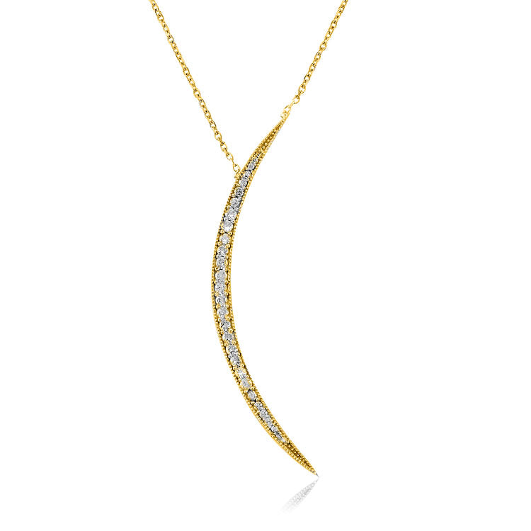 Slice of Heaven Necklace - The Firestone Collection - Fashion Jewelry & Accessories