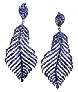 FABULOUS FEATHER DANGLE - The Firestone Collection - Fashion Jewelry & Accessories