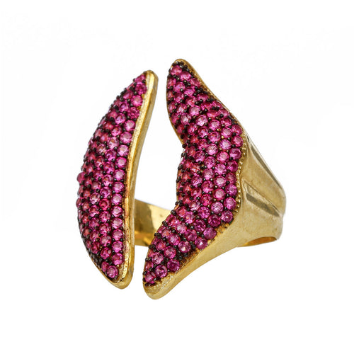 Hot Lips Adjustable Ring