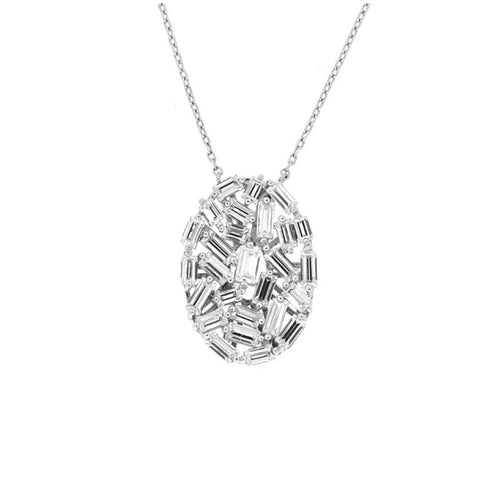RODEO DRIVE BAQUETTE NECKLACE