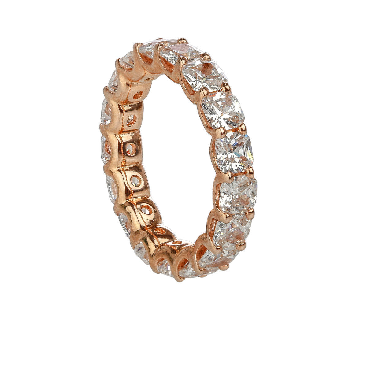 image full ring gold rose bands product eternity diamond band