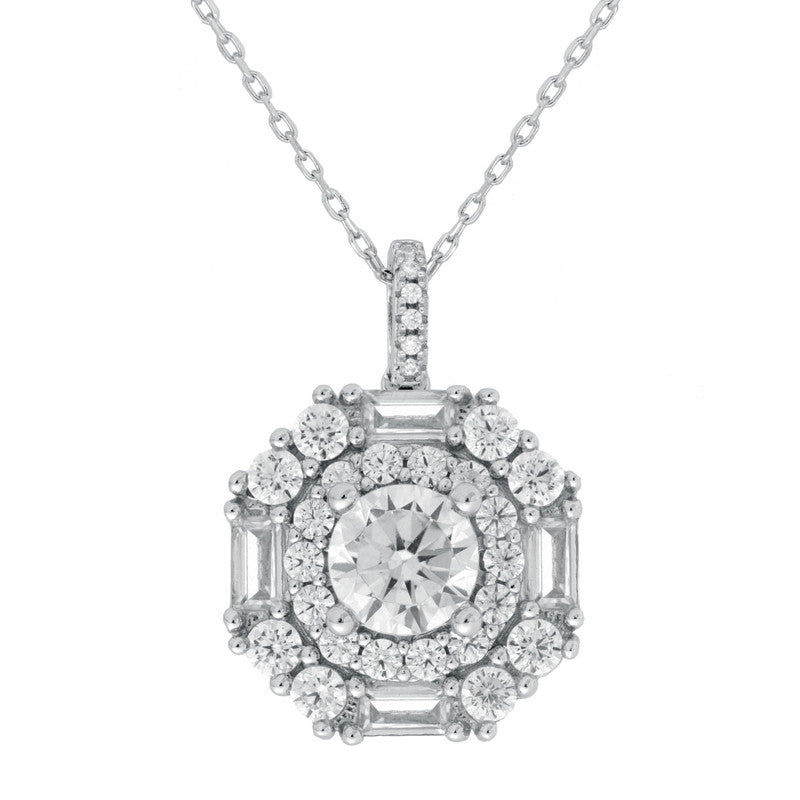 Victoria Pendant Necklace - The Firestone Collection - Fashion Jewelry & Accessories