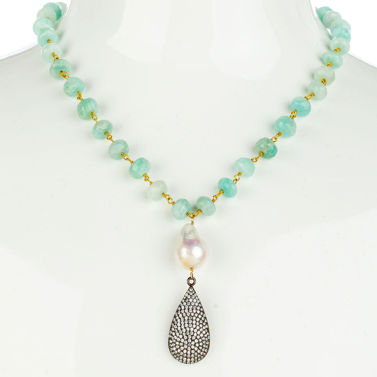 Yacht Club Necklace - The Firestone Collection - Fashion Jewelry & Accessories