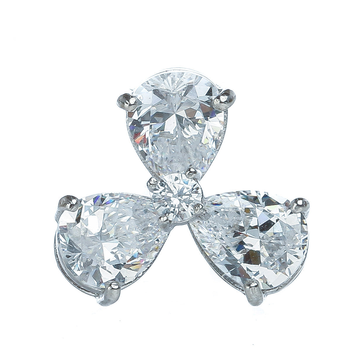 Clover Sparkle Studs - The Firestone Collection - Fashion Jewelry & Accessories