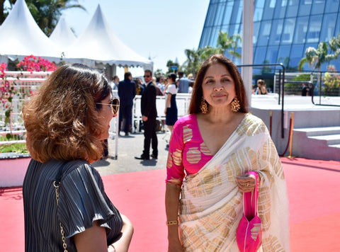 cannes, cannes film festival, day trip to cannes, trunk travellers, pitaara handmade, neena gupta