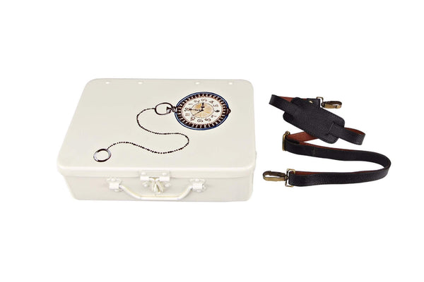 Pocket Watch - Ivory White