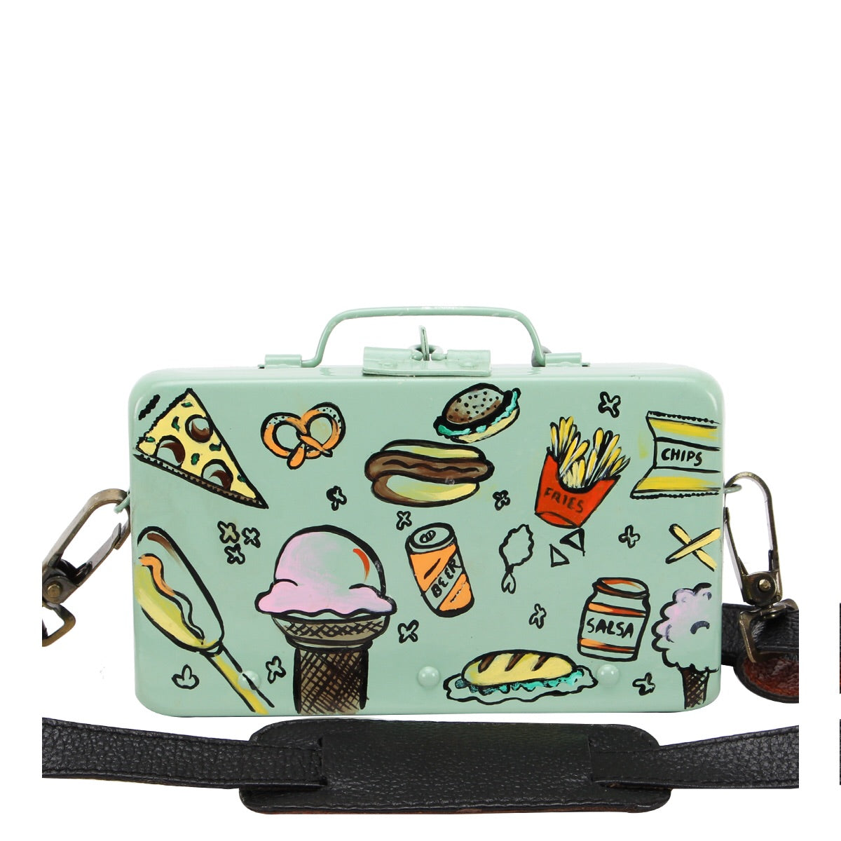 Food Lovers Sling - Mint Green