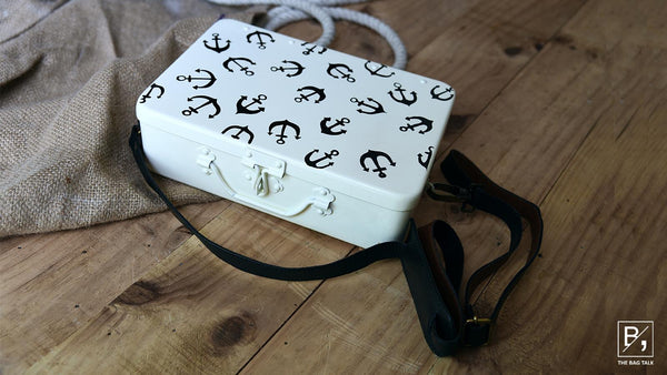 Anchor Travel Sling - Ivory White