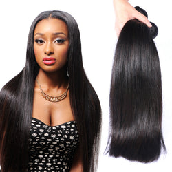 Beauty Women's Indian Virgin Hair Extensions Remy Straight Hair