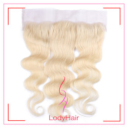 Brazilian human hair body wave 13*4 613# lace frontal-lodyhair