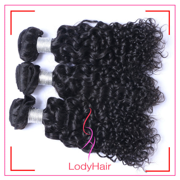 Brazilian Human Hair Deep Curly 1-3pcs-lodyhair