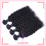 Brazilian Human Hair Jerry Curly 1-4pcs-lodyhair