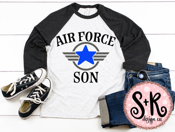 Air Force Son SVG DXF PNG (2019)