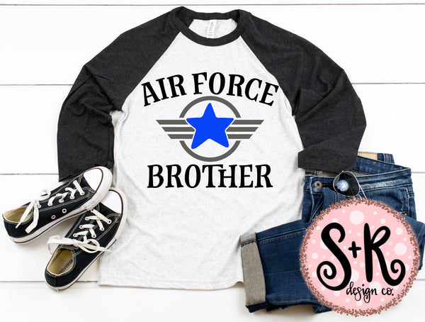 Air Force Brother SVG DXF PNG (2019)