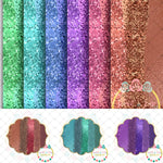 Jewel Tone Glitz Printable DESIGNER Clip Art/Paper Digital Set
