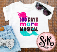 100 Days More Magical SVG DXF PNG (2018)