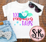 100 Mermazing Days All SVG DXF PNG (2018)