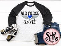 Air Force Aunt SVG DXF PNG (2019)