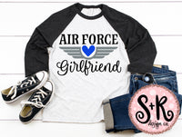 Air Force Girlfriend SVG DXF PNG (2019)