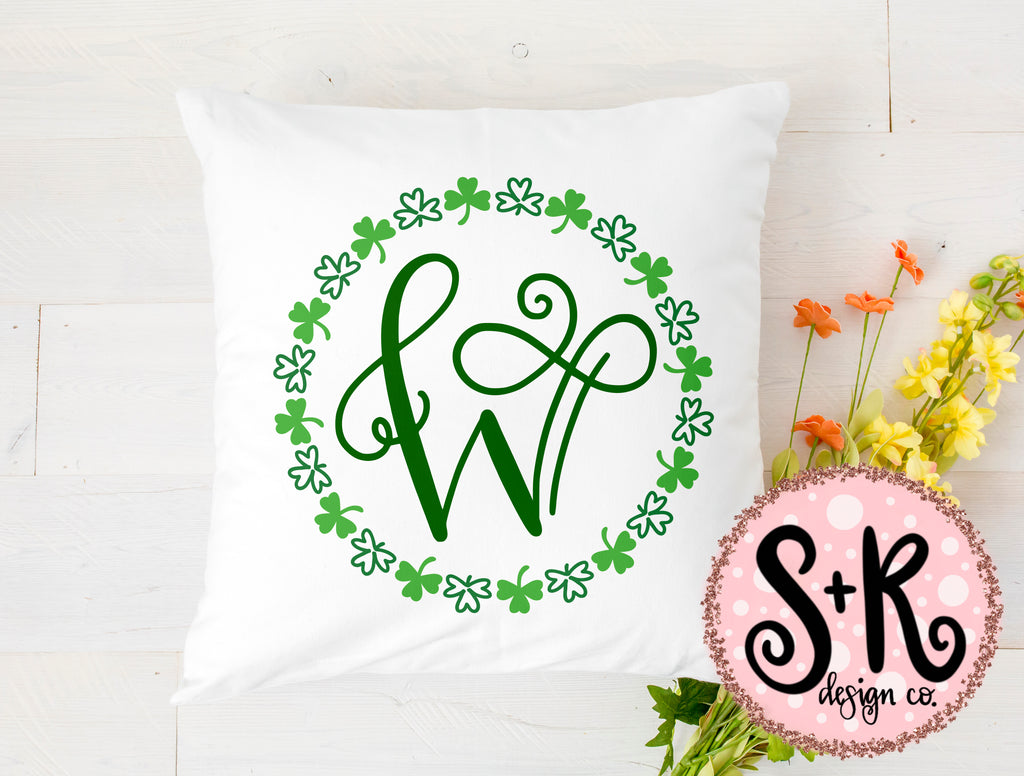 St Patricks Wreath SVG DXF PNG (2019)
