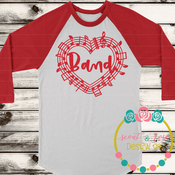 School Band SVG DXF PNG